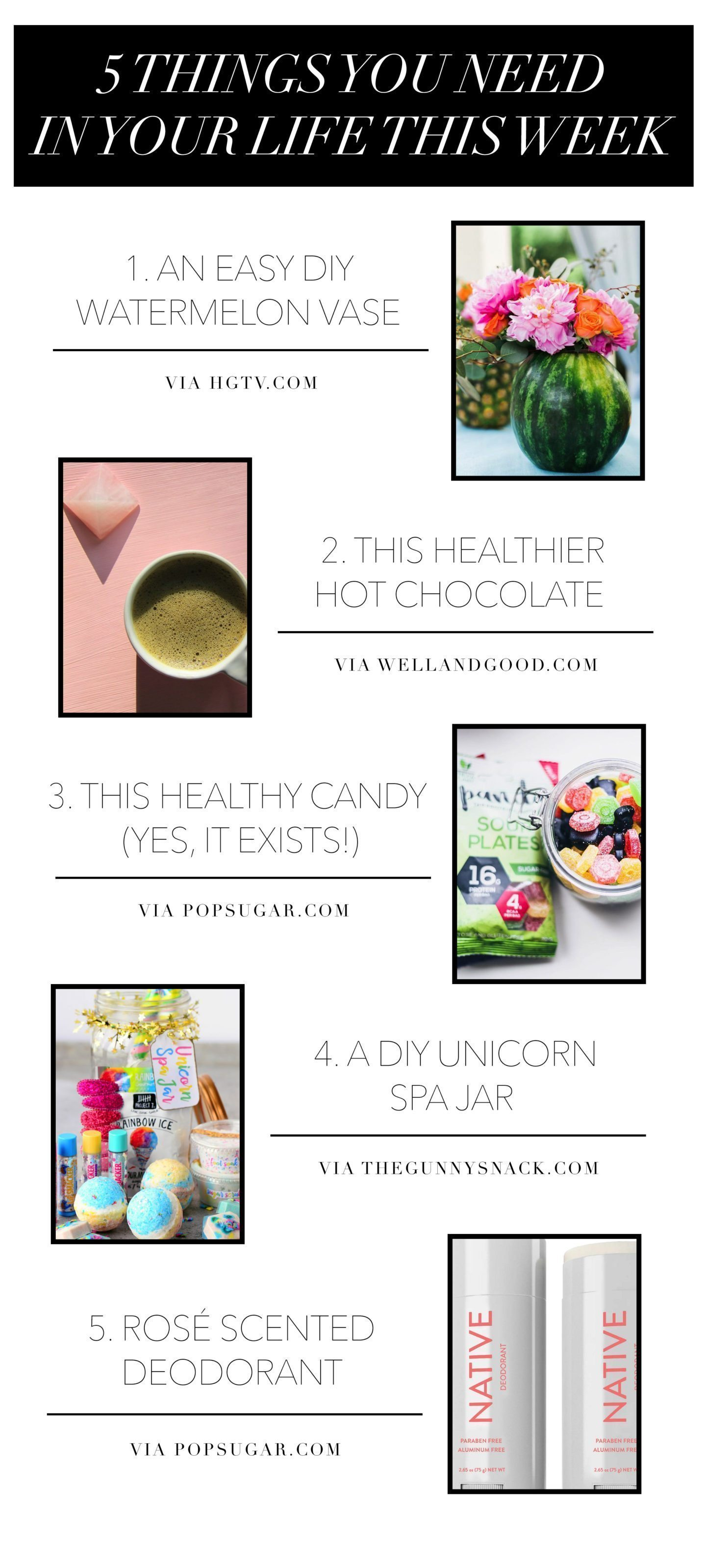 5 Things You Need in Your Life This Week 9/1/17)