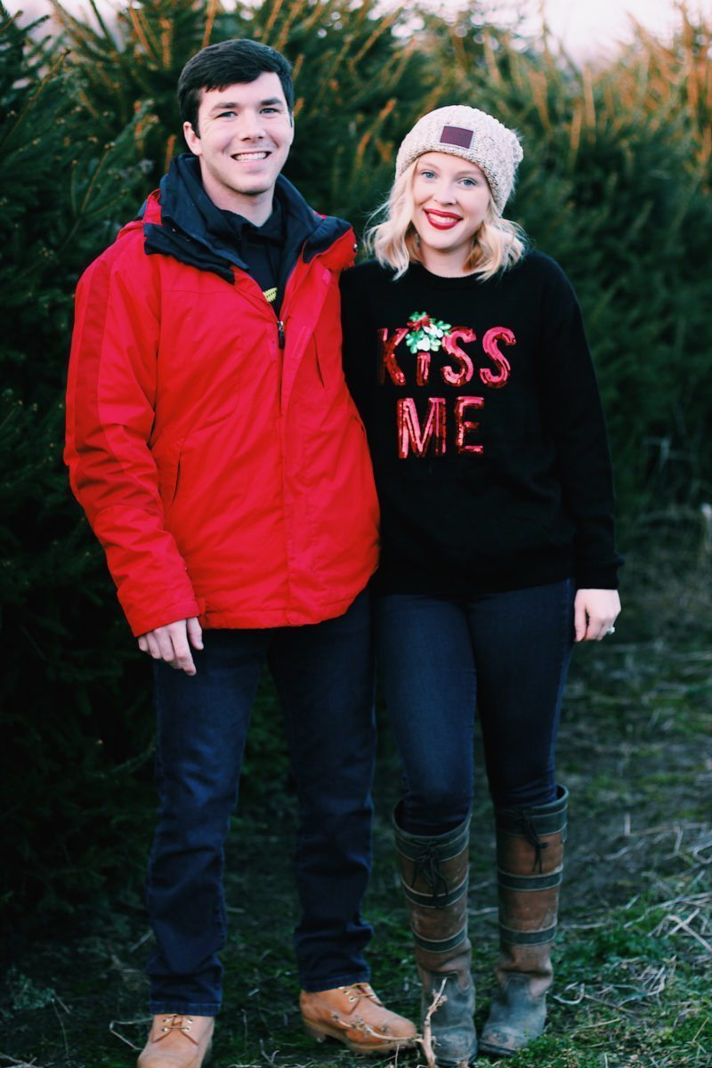 Holiday-Engaged-Couple